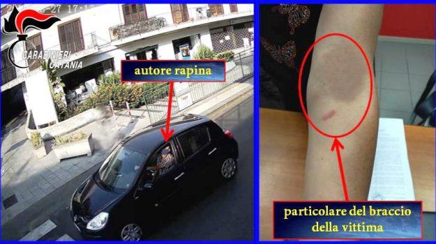 rapina, san giovanni la punta, Nunzio Campisi, Catania, Cronaca