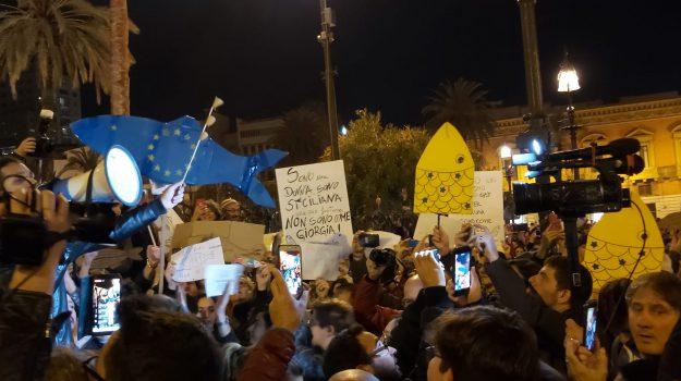 sardine, Matteo Salvini, Sicilia, Politica