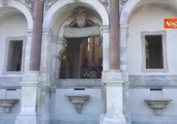 Torna a splendere il Fontanone del Gianicolo La cerimonia d'inaugurazione