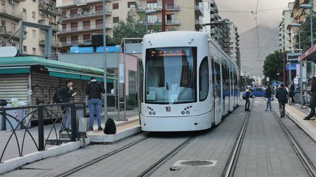 tram, trasporti, Palermo, Economia
