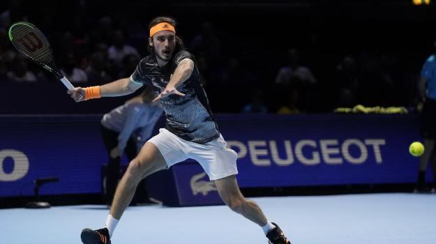 Tennis, Roger Federer, Stefano Tsitsipas, Sicilia, Sport