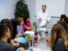 Un momento di formazione per i medici