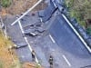 Dissequestrato viadotto A6 crollato