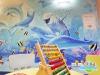 Un dipinto di Irilli in ospedale, lacquario Vittoria