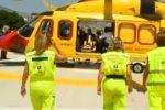 Incidente sulla Palermo-Catania, investito da un furgone: camionista perde le gambe