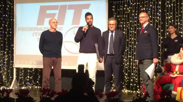 Fit, tennis palermo, Gabriele Palpacelli, Marco Cecchinato, Salvatore Caruso, Palermo, Sport