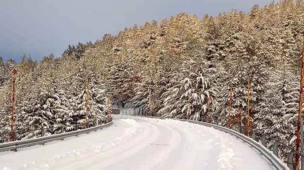neve, piano battaglia, Palermo, Cronaca