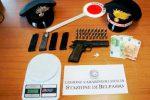 Armi e droga in un garage, arrestato 20enne di Belpasso