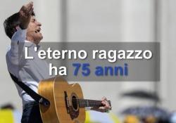 Gianni Morandi, l'eterno ragazzo compie 75 anni 84 album, 45 raccolte e oltre 50 milioni di dischi venduti in tutto il mondo: il cantante di Monghidoro spegne 75 candeline - Ansa