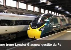 Il primo treno Londra-Glasgow gestito da Fs L'amministratore delegato Gianfranco Battisti, presente al viaggio inaugurale dell'Avanti West Coast - Corriere Tv
