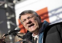 Ilva, Landini: «Si riparte da accordo di 6 settembre, esuberi non in discussione» A Roma la manifestazione dei sindacati su industria, crescita e occupazione - Ansa