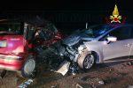 Incidente stradale a Catania, scontro da due auto: giovane in gravi condizioni