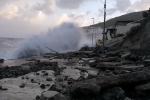 Maltempo nella borgata Acquacalda di Lipari