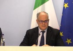 Mes, Gualtieri: «Salvini ha aumentato tasse e debito» Le parole del ministro dell'Economia Roberto Gualtieri - Ansa