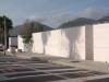 La recinzione di un lido nasconde la vista del mare a Mondello: è protesta