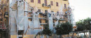 Il crollo di piazza Cavour ad Agrigento, riapre il viale della Vittoria