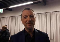 Sanremo, Amadeus: «Ho scelto i 22 Big ma ora penso ai giovani» Il 19 dicembre su Rai1 Sanremo Giovani, in palio 8 pass per Ariston - Ansa