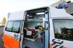 Un'ambulanza del 118