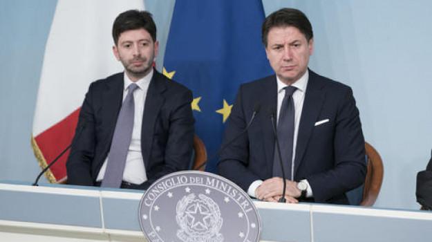 coronavirus, Giuseppe Conte, Roberto Speranza, Sicilia, Politica
