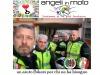 Moto club vigili fuoco Terni con malati