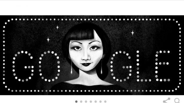 doodle di google, Anna May Wong, Sicilia, Società