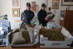 Conviventi nascondevano 21 chili di droga in casa: arrestati a Pachino