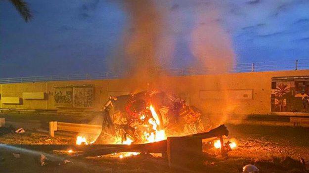 attentato, iraq, Soleimani, Sicilia, Mondo