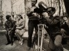 ANSA/ Mostre: proteste alla Biennale 68 nelle foto di Mulas