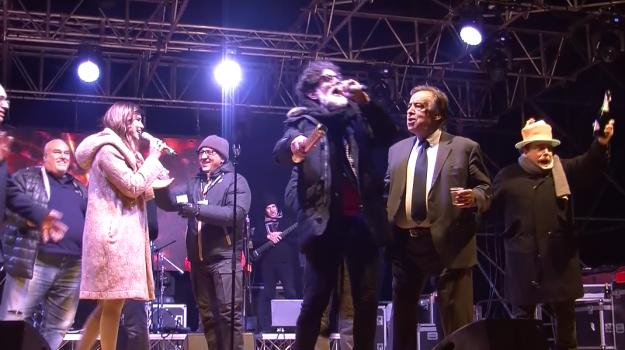 capodanno, Leoluca Orlando, Palermo, Politica