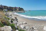 La spiaggia di Castel di Tusa