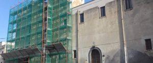 Bronte, scoperte decorazioni dell'800 nella navata di San Vito