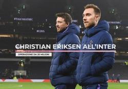 Christian Eriksen all'Inter: operazione da 20 milioni Cresce l'attesa per Christian Eriksen, centrocampista in arrivo dal Tottenham - Ansa