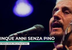 Cinque anni senza Pino: la dedica sui social della figlia Sara Il 4 gennaio 2015 moriva il grande cantautore napoletano - Ansa