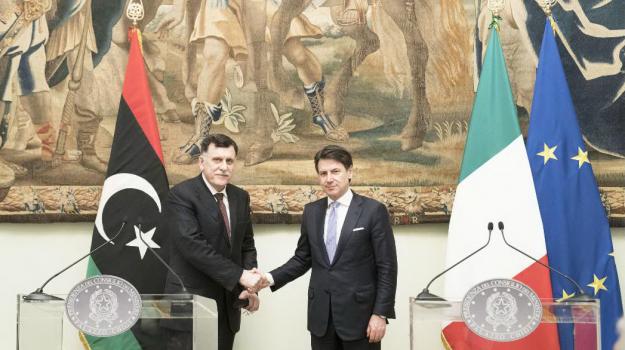 libia, Giuseppe Conte, Sicilia, Mondo