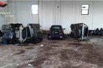 A Paternò scoperto un deposito di autovetture rubate