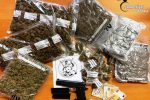 Aci Catena, nascosti in un garage oltre 2 chili di marijuana: tre arresti