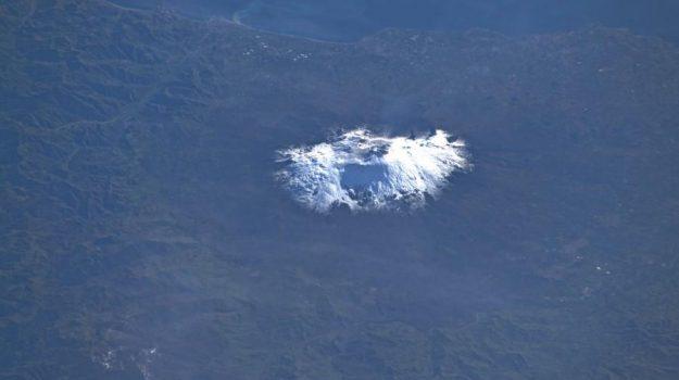 vulcani, Luca Parmitano, Catania, Società
