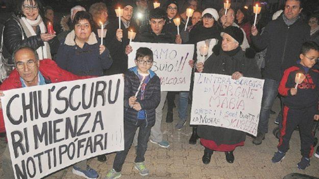 illuminazione, maria prestigiacomo, Palermo, Cronaca
