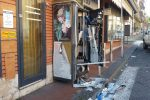 Bomba e boato nella notte a Giarre, colpo al distributore di sigarette