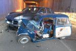 Incidente a Sant'Agata di Militello, scontro tra due auto: ferito un 73enne