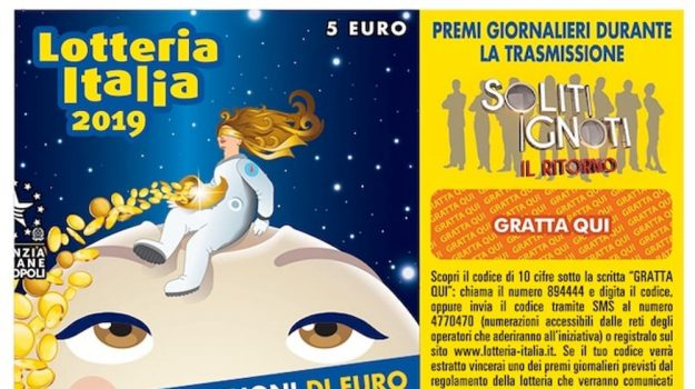 lotteria italia, Amadeus, Sicilia, Società
