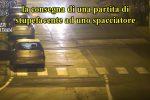 Un frame del video inviato dai carabinieri
