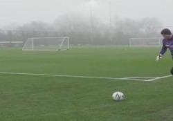 Manchester City, Ederson segna da dietro la porta Il gol dalla bandierina del portiere - Dalla Rete