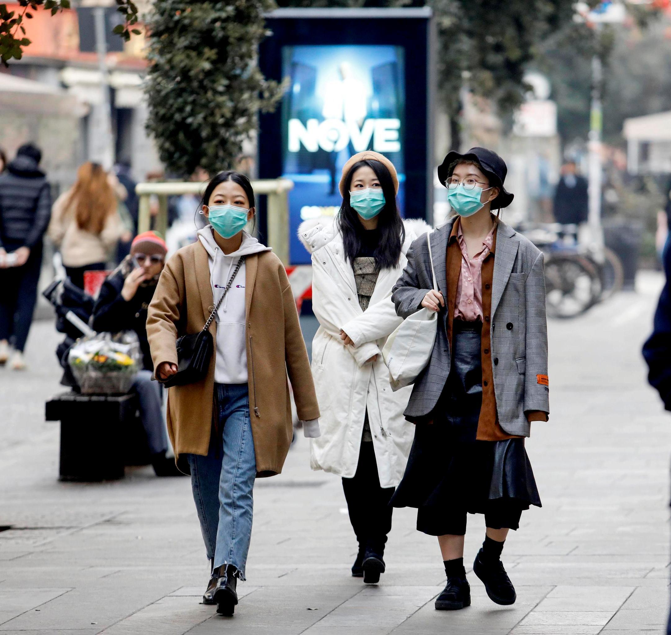 maschera anticorona virus
