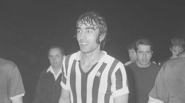 Lutto, Pietro Anastasi, Catania, Calcio