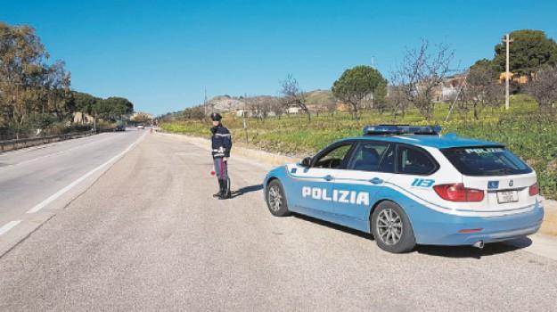 Polizia stradale, Agrigento, Cronaca