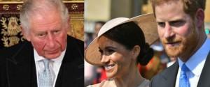 Harry e Meghan, il principe Carlo pronto a tagliare i fondi alla coppia
