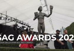 Sag Awards 2020, i look delle star sul red carpet Dall'abito scintillante di Nicole Kidman a quello scollatissimo di Scarlett Johansson - Ansa