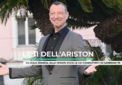 Sanremo, le 11 donne dell'Ariston: da Rula Jabreal a Mara Venier, videoscheda  Ci sono anche Diletta Leotta e Monica Bellucci: ecco le co-conduttrici di Sanremo 70 - Ansa