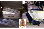 Trovati con 20 chili di marijuana nel trolley: due gelesi arrestati al porto di Messina